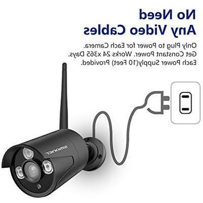 8CH Expandable Surveillance Kits System Wireless,SMONET Home