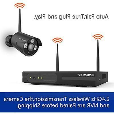 8CH Expandable Kits System Wireless,SMONET Home