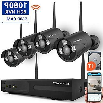 8ch expandable surveillance dvr kits security camera