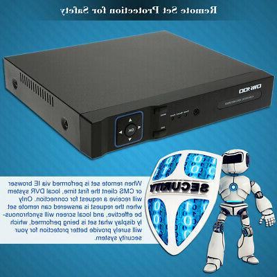 OWSOO 1080P AHD H.265+ Video Recorder System