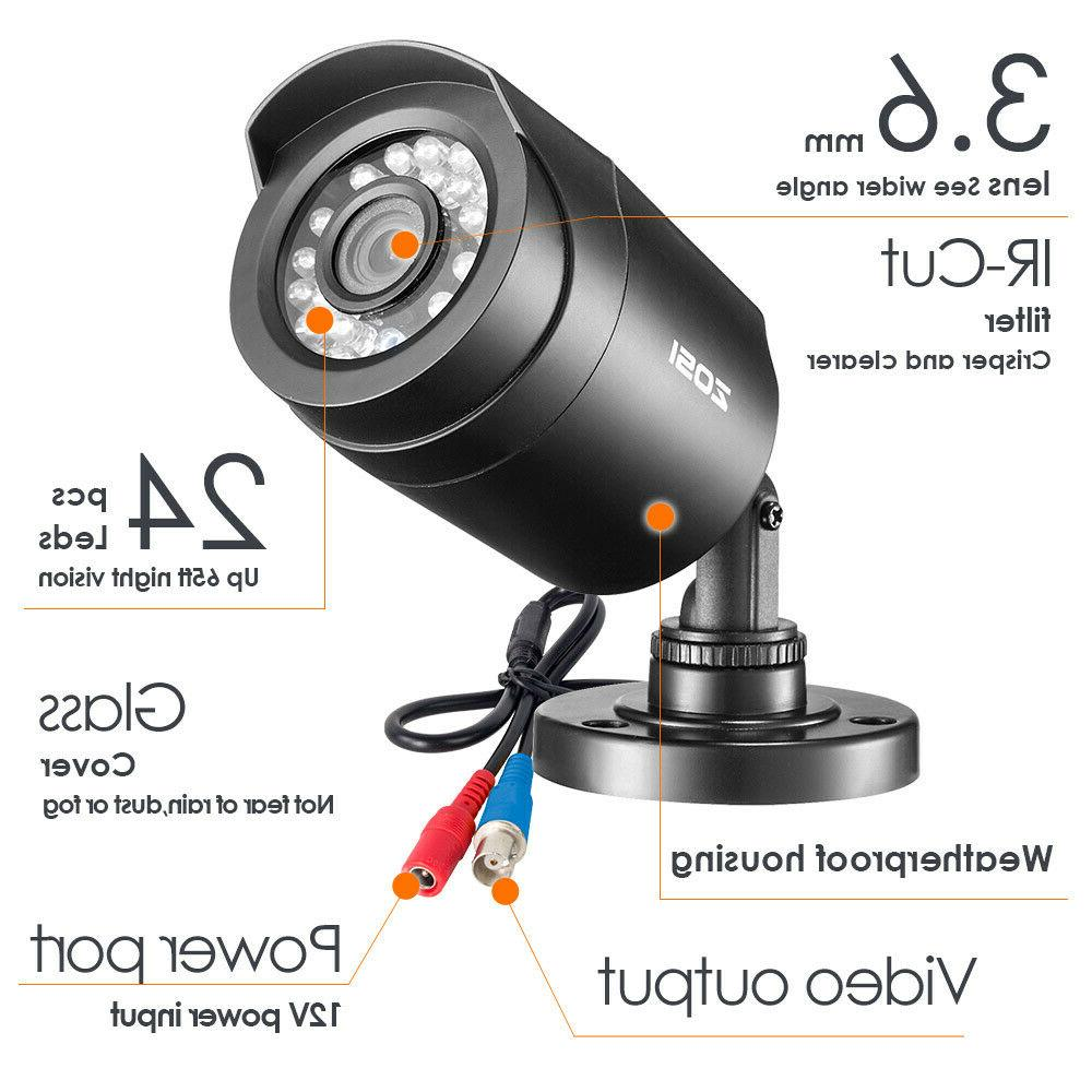 ZOSI 1080N with Drive 2PCS Outdoor Camera