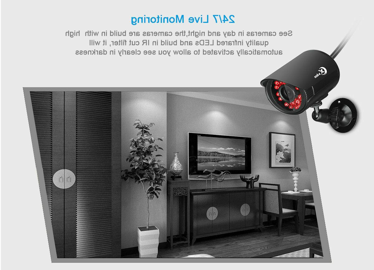 DVR 1920TVI Night Vision Security System