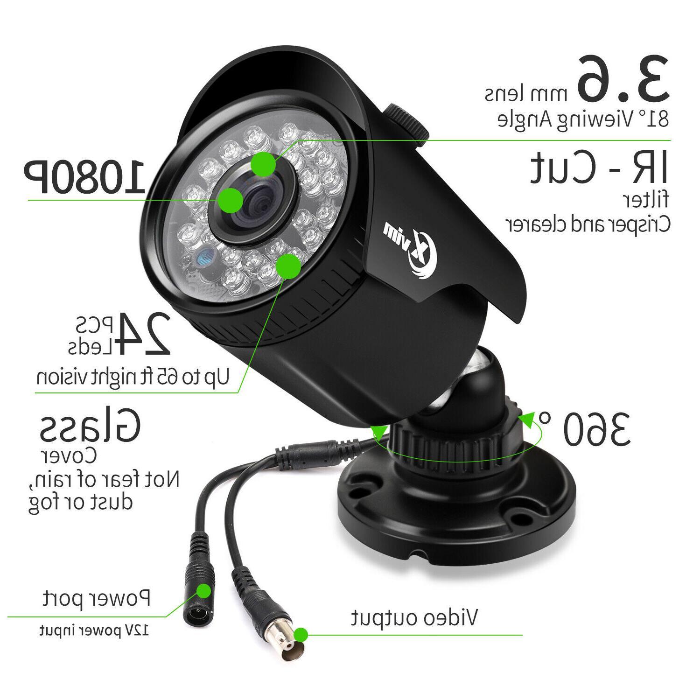 XVIM HDMI CCTV DVR 2MP Outdoor IR Night Camera