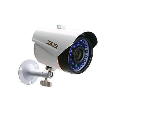 Security 1.3MP Outdoor Weatherproof Cameras CCTV Surveillance, 65ft Night Vision, 500GB Hard Disk Drive