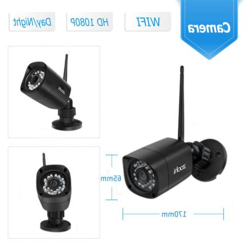 Zoohi Outdoor System WIFI 1080P CCTV