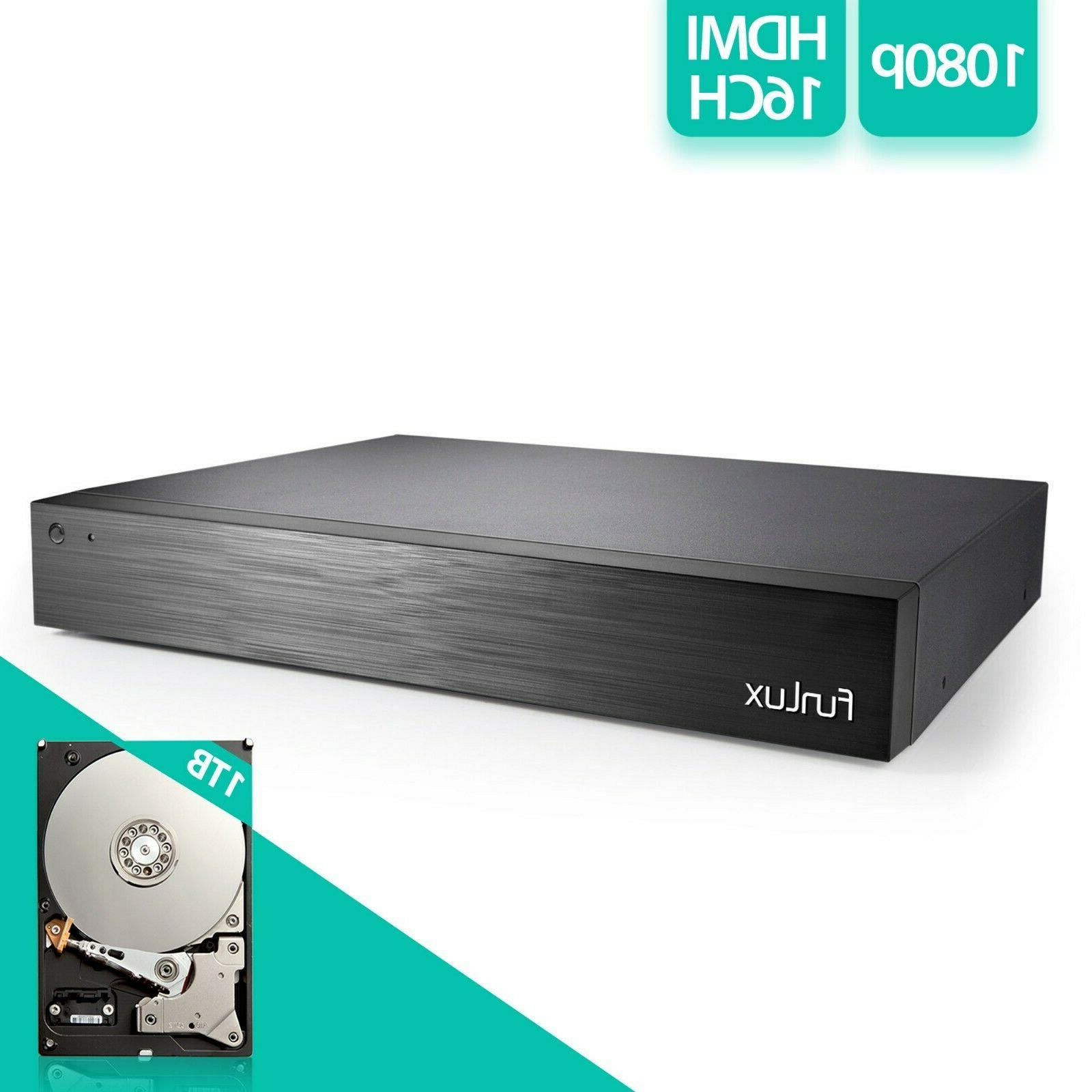 Funlux Security Camera 16Channel w/1TB HDD Renewed