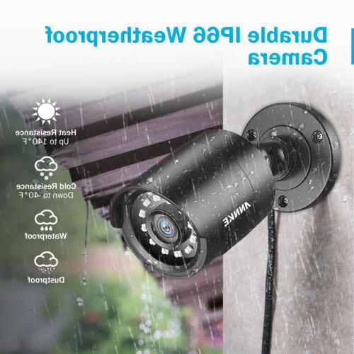 ANNKE 4pcs 3000TVL Full 1080P CCTV Security Camera Outdoor Night