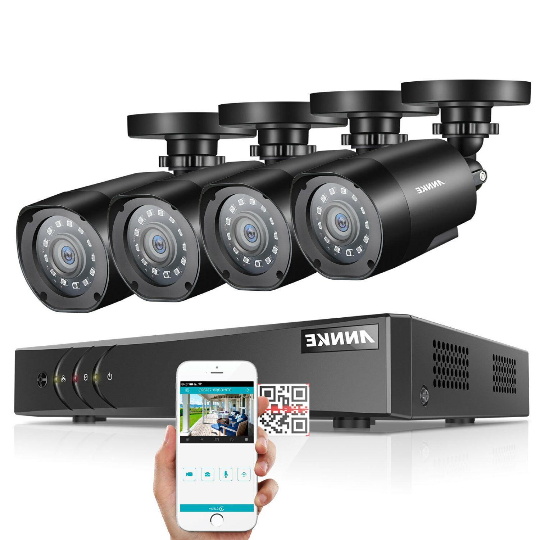 ANNKE 5in1 8CH DVR 3000TVL CCTV Camera System