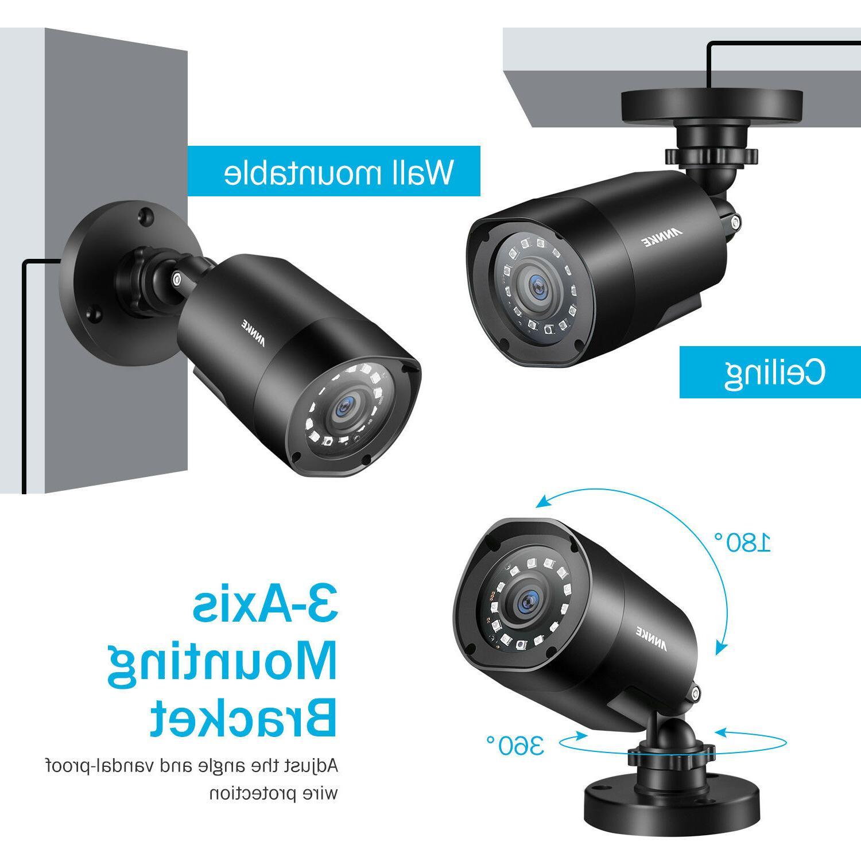 ANNKE Lite 8CH DVR HD 2MP 3000TVL Outdoor Camera System