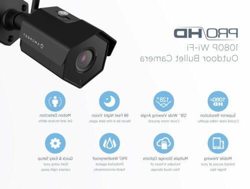 Amcrest IP2M-852B Outdoor 1080P WiFi Security Bullet Camera