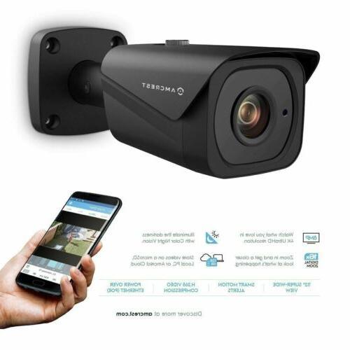 Amcrest UltraHD Bullet POE Camera IP8M-2496EB