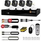 Defender HD 1080p 4 Ch 1TB DVR Security System and 4 Bullet