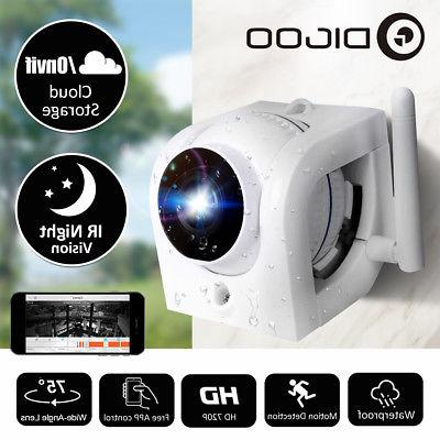 Digoo P2P ONVIF WiFi IP Camera IR Night Vision Waterproof Wi