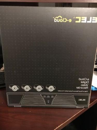 ELEC  E-Cloud 4 H.264 Digital video Recorder