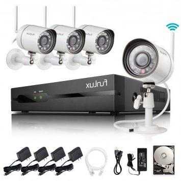 Funlux 2-Minute-Setup Smart Wireless Security Camera System,