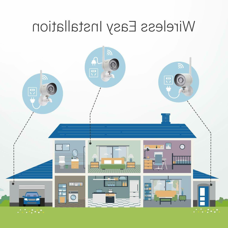 Funlux Wireless Security System Smart Indoor Outdoor PACK
