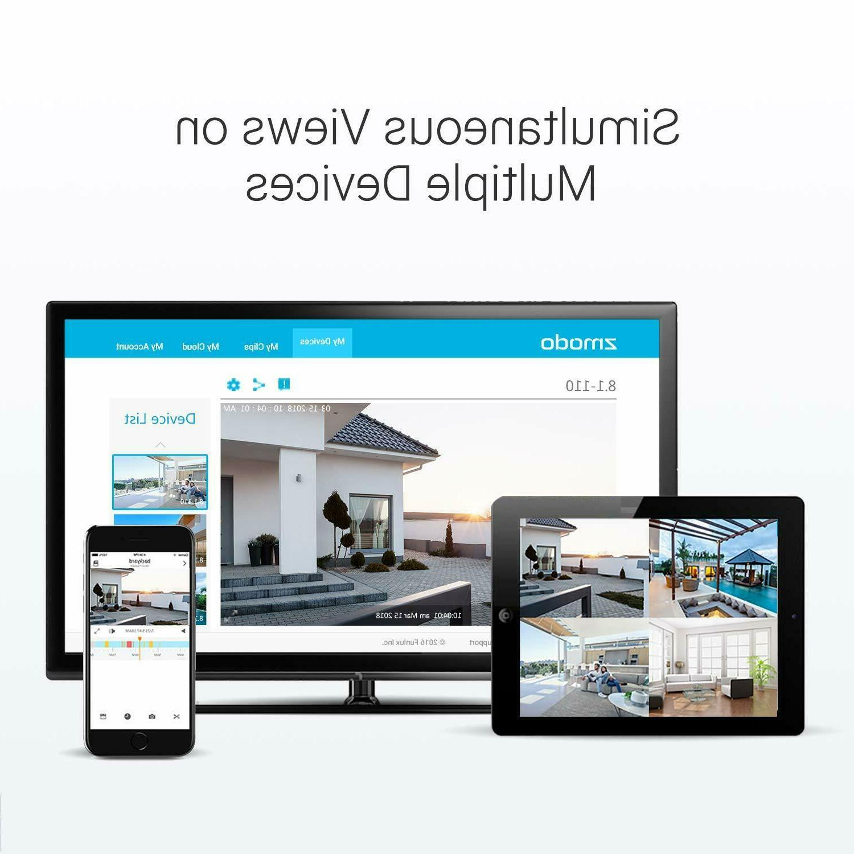 Funlux Wireless System Smart Indoor Outdoor WiFi PACK