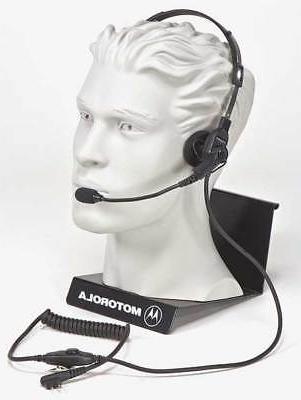 Headset,Over the Head,On Ear,Black MOTOROLA RMN4016B