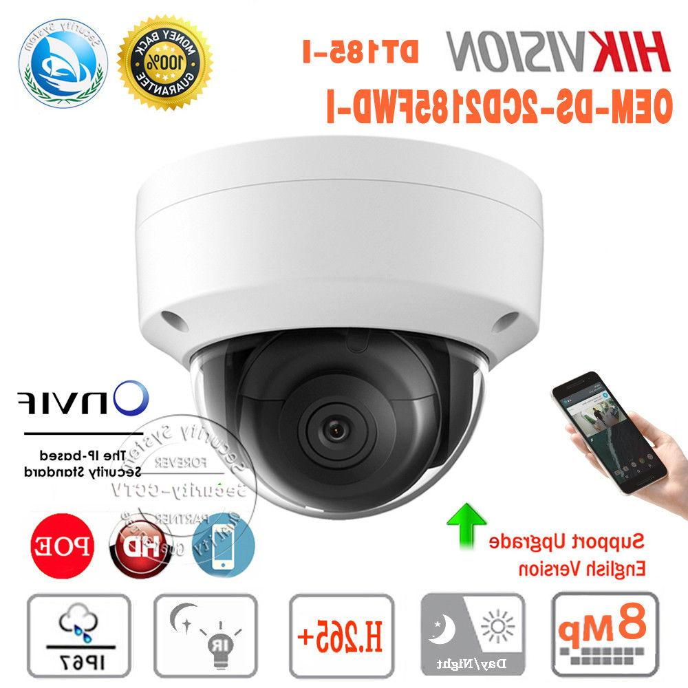 Hikvision DS-2CD2185FWD-I 8MP PoE Outdoor IP Camera 2.8mm OEM