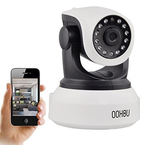 IP Camera, UOKOO 720P WiFi Security Camera Internet