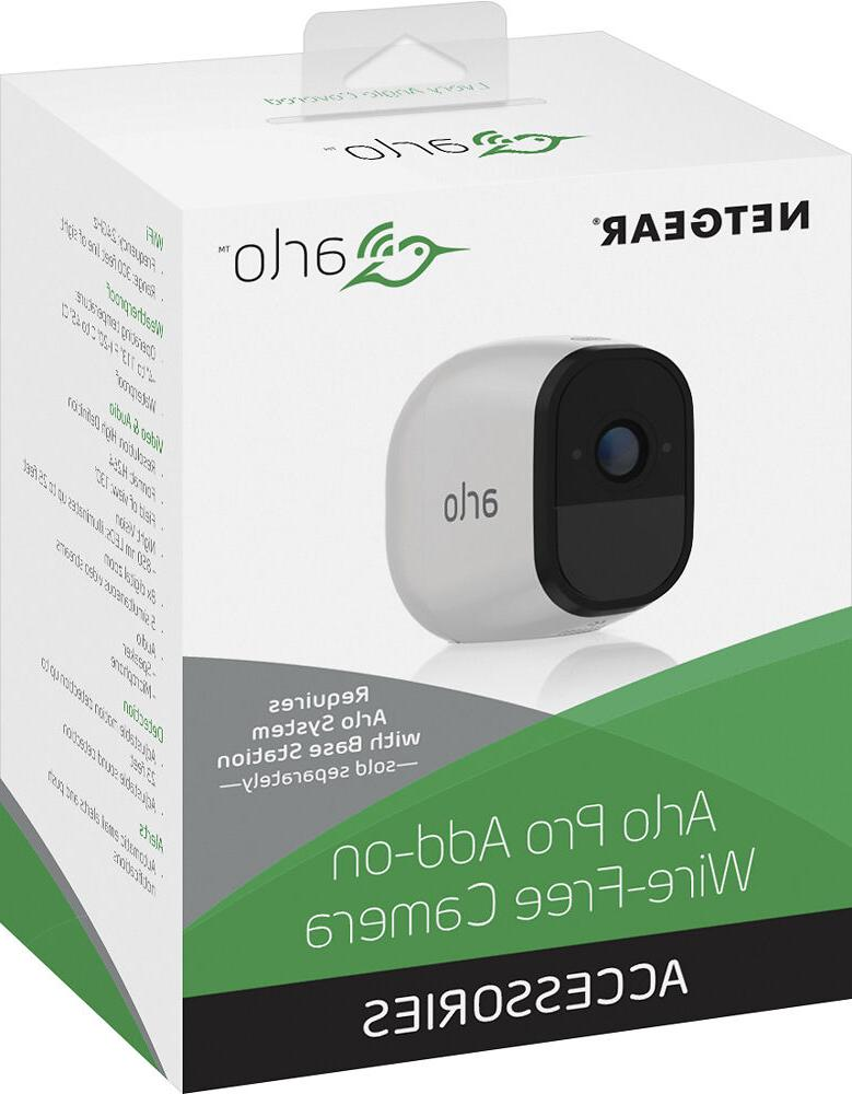 *NEW* Arlo - Pro Add-On Indoor/Outdoor HD Wire Free Security
