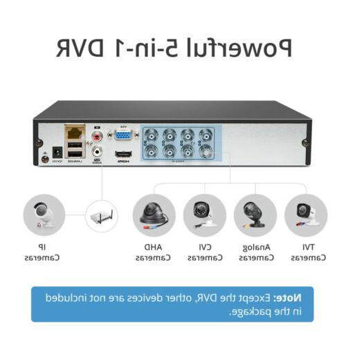 SANNCE H.264+ 5in1 DVR Outdoor Video Camera System