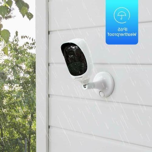 Wireless Security IP Rechargeable Waterproof