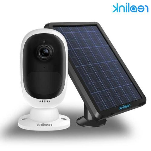 Security IP Camera Wireless Rechargeable Battery/Solar Power