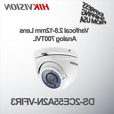Varifocal Dome Security Camera 700TVL Analog 2.8-12mm Lens H