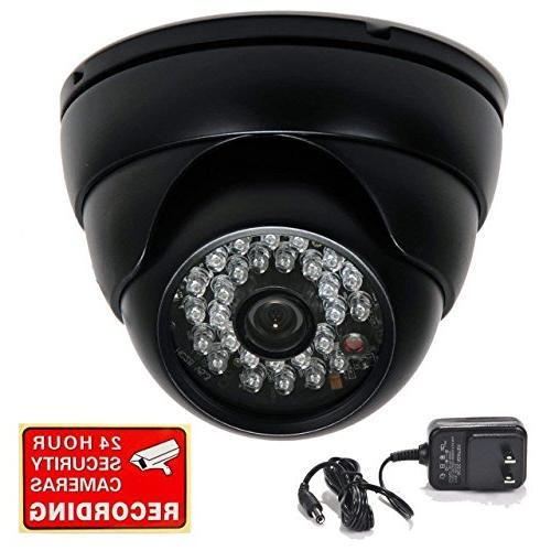 "VideoSecu Dome Security Camera 700TVL Built-in 1/3"" SONY Eff"
