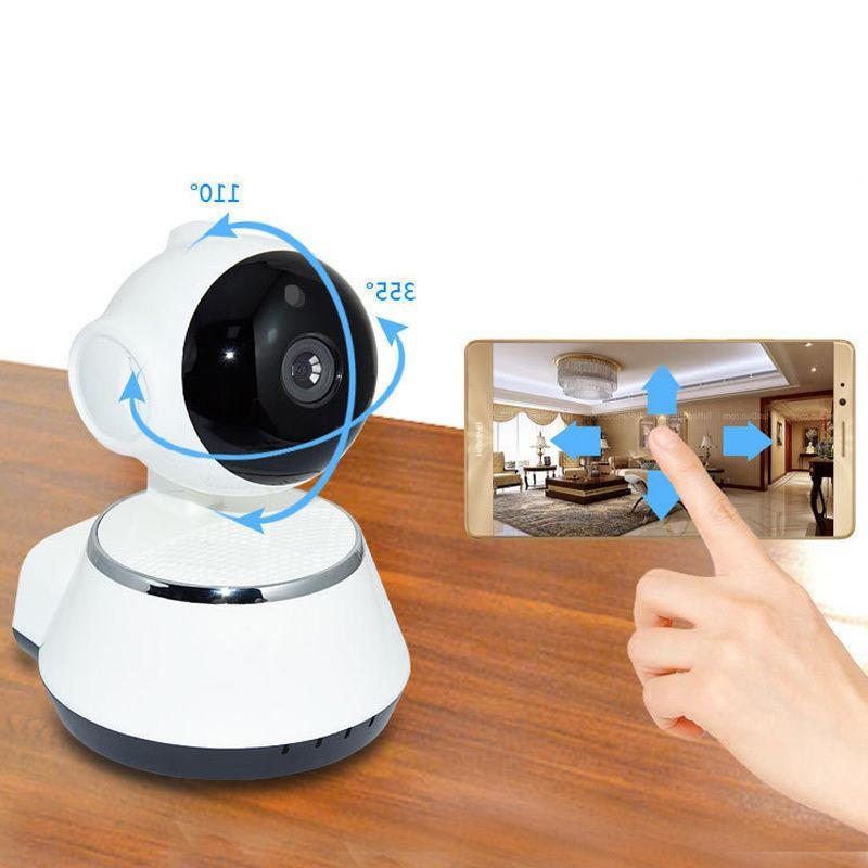 Wireless 720P v380 Smart WiFi Security Camera Home IR Webcam