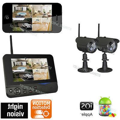 Wireless Home Security CCTV