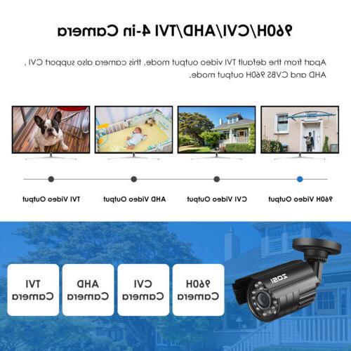 ZOSI 1080p Bullet Home Surveillance Day