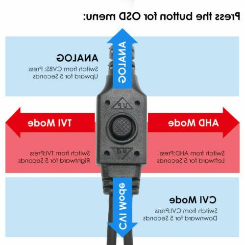 ZOSI 1080p 4in1 Bullet CCTV Surveillance Camera