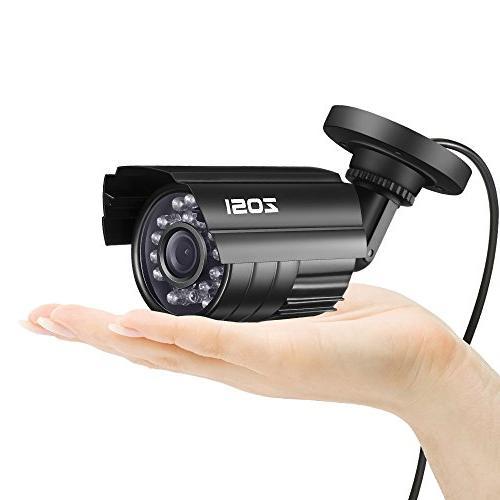 ZOSI Security System Video DVR 4X 1920TVL Indoor Cameras Alert, PC Easy Remote Access
