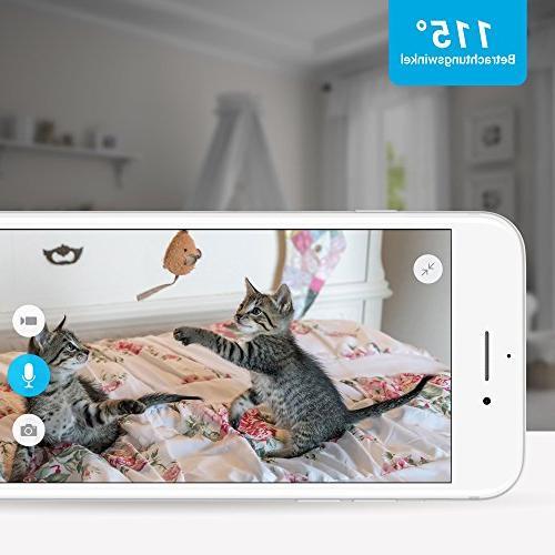 Zmodo Mini 720p Wireless Indoor Home Security