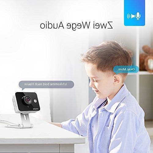 Zmodo New WiFi 720p Wireless Indoor Home Video Camera Two-Way Audio
