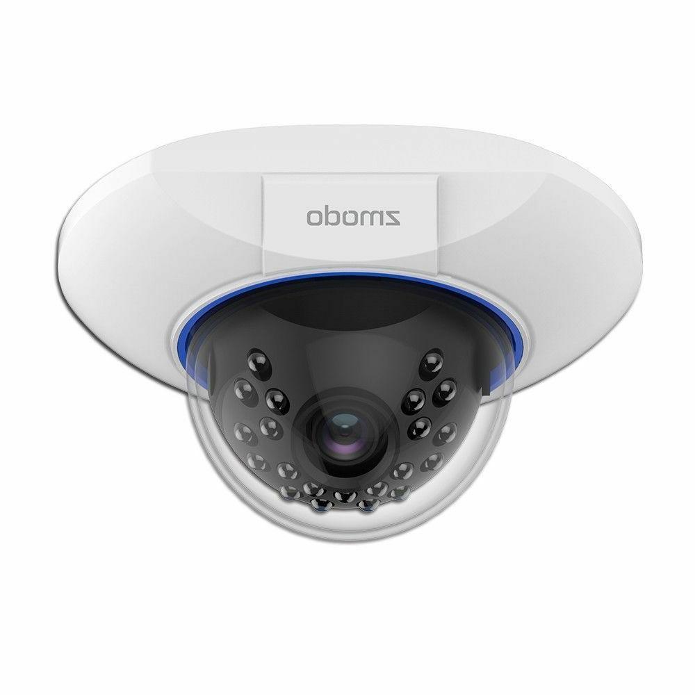 Zmodo 720p sPoE Hd Dome IP Camera ZM-SS76D001-S Male MicroUS
