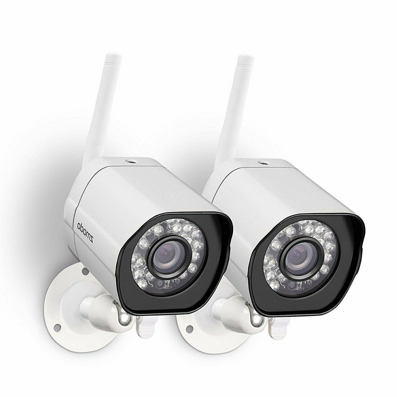 Zmodo Wireless Security Camera System  Smart HD Outdoor WiFi