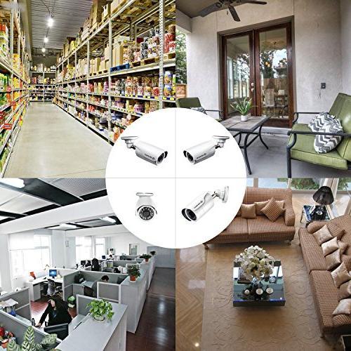 DEFEWAY 1080P Indoor Video Surveillance Camera HD 2000 TVL CCTV Security Camera No Cables