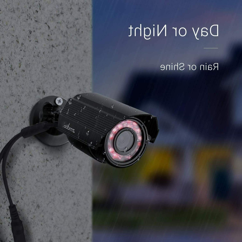 Zmodo 700TVL HD Motion Security Cameras w/Night Vision
