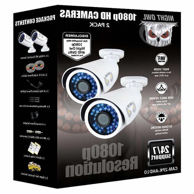 Night Owl 1080p Analog Bullet 2-pack