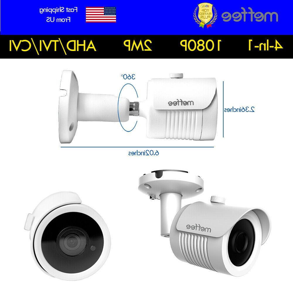 Analog CCTV Security Camera Bullet Outdoor Vision