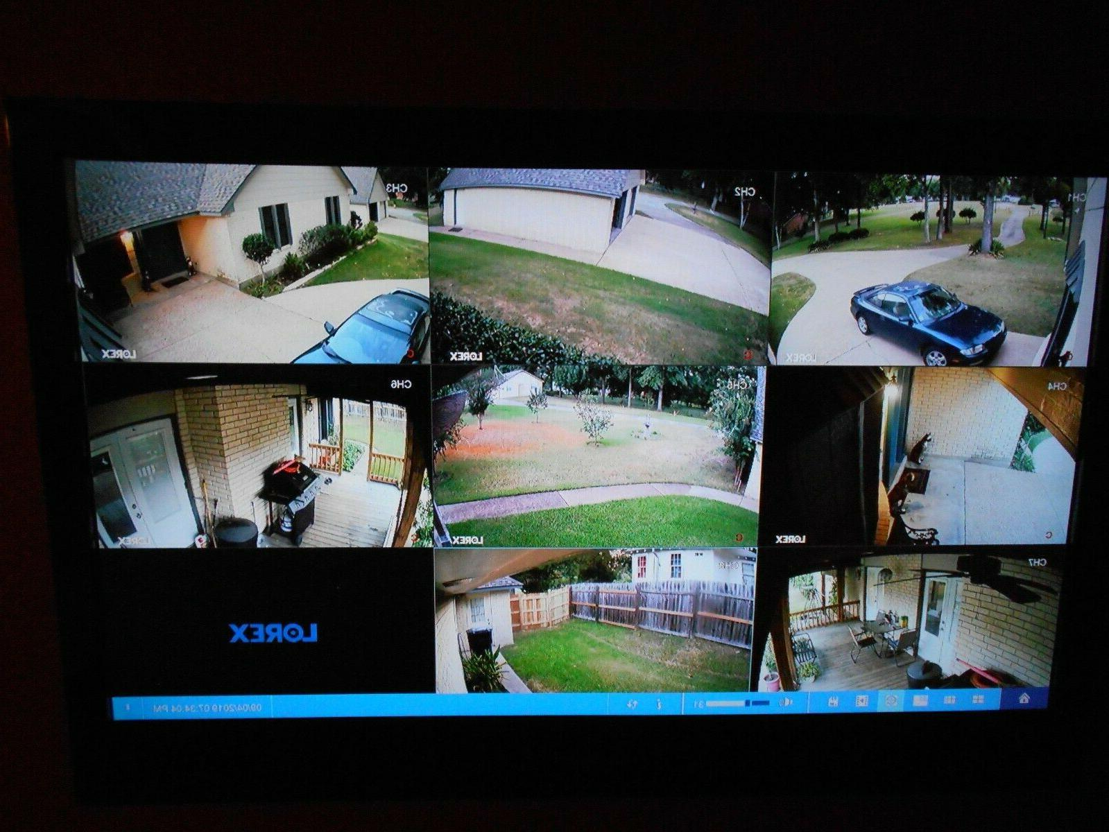 BRAND NEW LOREX WIRED CAMERA 1080p CHANNELS CAMERAS