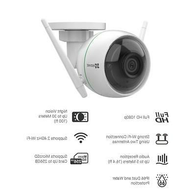 EZVIZ Full 1080p Smart Wi-Fi Bullet