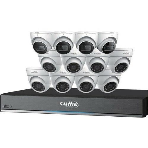 Dahua C7168E124 4K HDCVI Security Cameras System 16CH DVR 4T