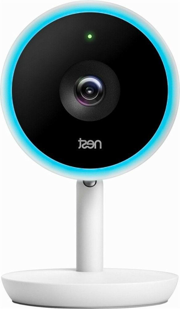 Nest - Nest Cam IQ Indoor Full HD Wi-Fi Home Security Camera
