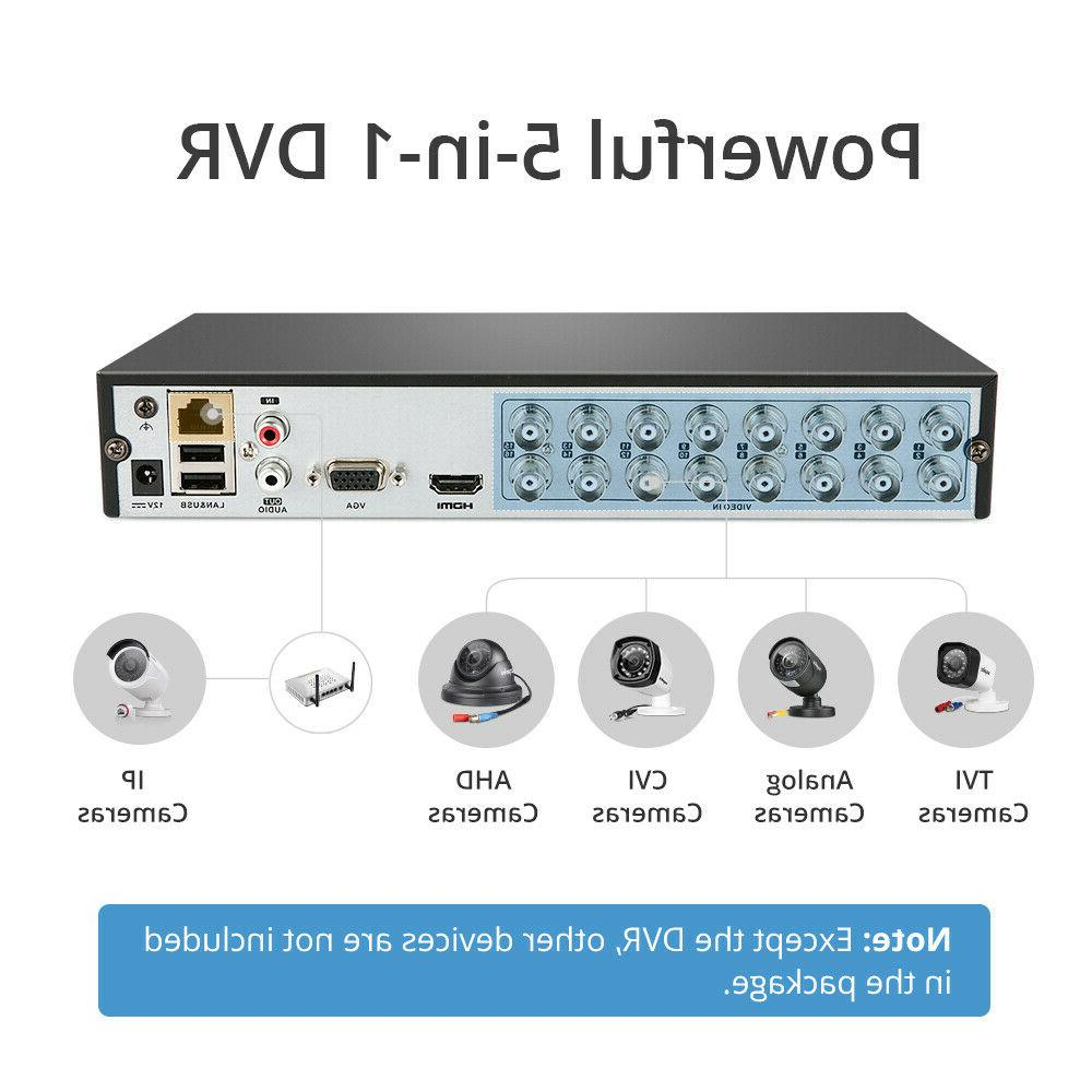 SANNCE Security System Home 1080P 2MP Night