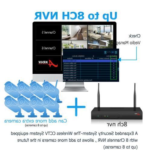 ANRAN Wireless Home 8CH