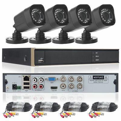 did 4ch 1080n dvr home cctv security